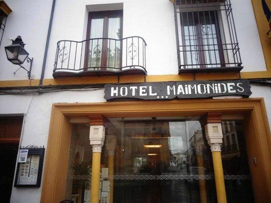 Hotel Eurostars Maimonides: entrada