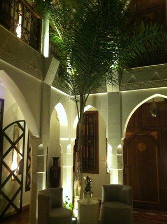 Riad Quara: vue de la chambre