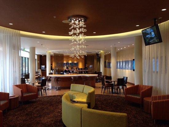 SpringHill Suites Coeur d'Alene: Breakfast area