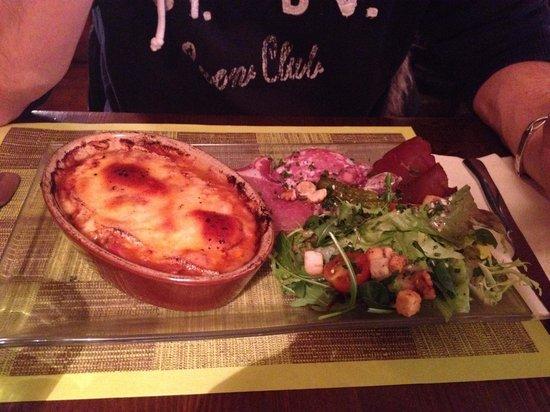 Restaurant L'Alpin: Diot de savoie en gratin
