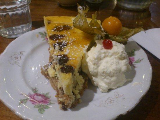 Queen of Tarts: Bailey cheesecake