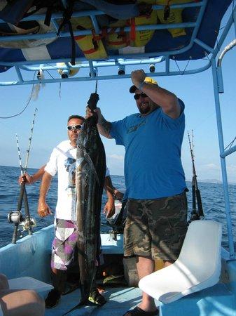 Las Brisas Huatulco: My husbands Catch of the say- SAIL FISH