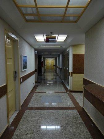 Elegance Praia Hotel : Corridor