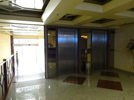 Elegance Praia Hotel : Elevators