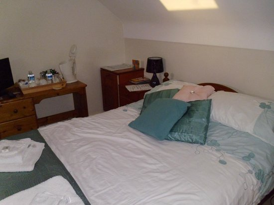 Stonehouse Farm B&B: Bedroom