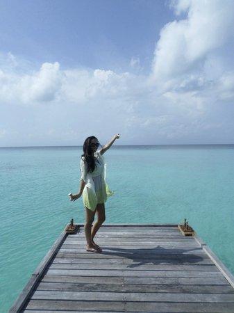 Kuramathi Island Resort: Beautiful view
