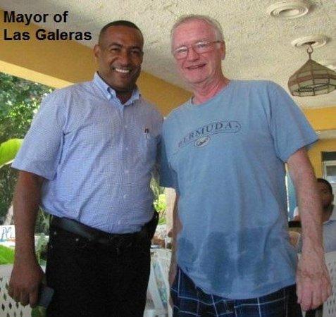 La Playita Beach: With the Mayor of Las Galeras