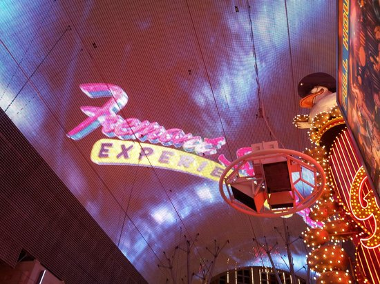 Big Bus Tours Las Vegas: Overhead at the Fremont Street Experience