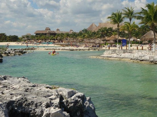Catalonia Yucatan Beach: View from the reef