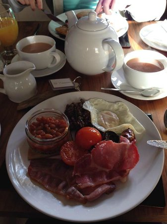 No.20 Boutique Bed and Breakfast: Full Scottish Breakfast