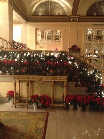 Omni Shoreham Hotel: Christmas display