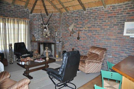 De Ark Mountain Lodge : Wohnraum
