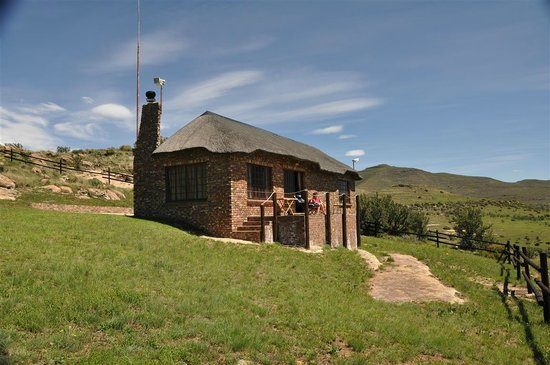 De Ark Mountain Lodge : Außenansicht