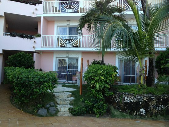 Excellence Punta Cana : Ground floor room with a little semi private patio