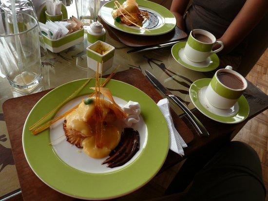 Seronera Wildlife Lodge: Dessert @ lunch