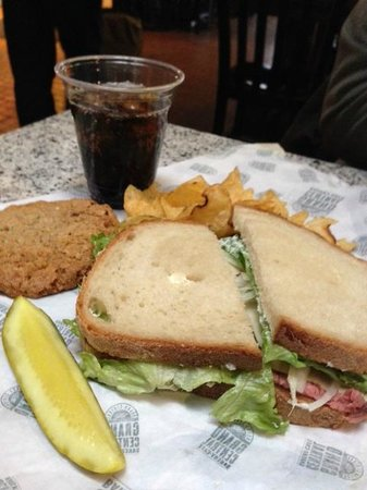 Grand Central Bakery: Roast beef with horseradish