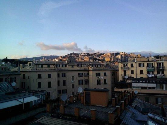 Albergo Astro: Чудесный вид с балкона номера