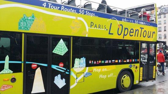 L'Open Bus Tour : i bus