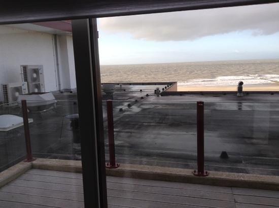 Hotel de Blanke Top: uitzicht een afknapper voor een kamer van net geen 300 euro (kamer 51)