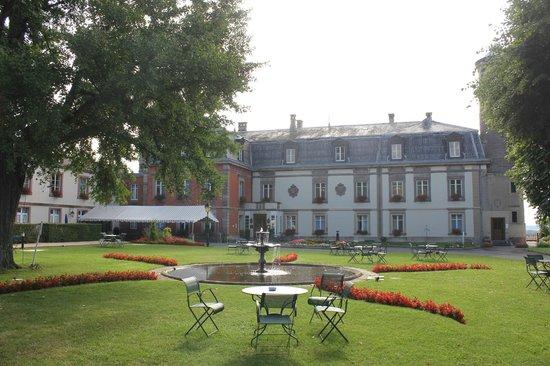 Chateau d'Isenbourg : giardino
