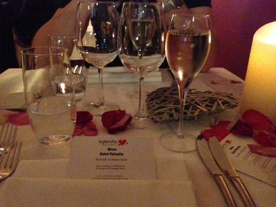 La Plancha : Dinner en amoureux <3
