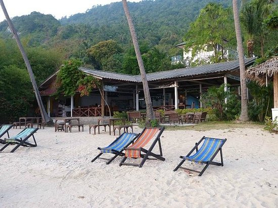 Thaniza Beachfront Resort : Beach