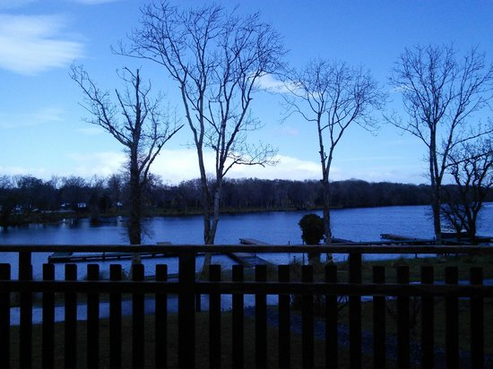 Lusty Beg Island: View from cabin 9
