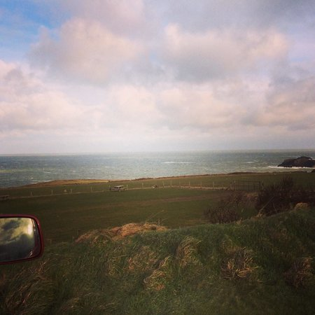 Celtic Camping: View from the camper...