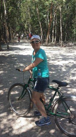 Ruinas de Coba: Cycling