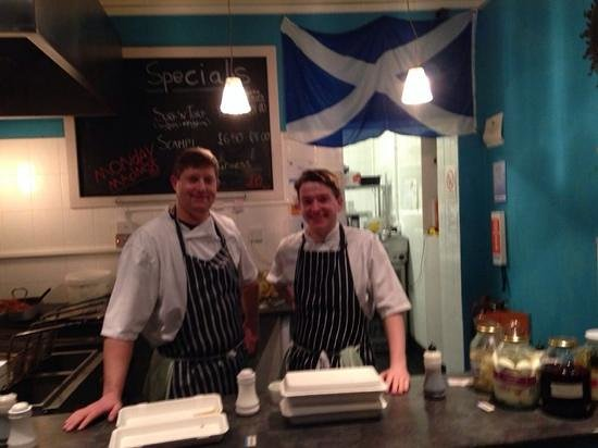 The Wee Kelpie : made to order and friendly service