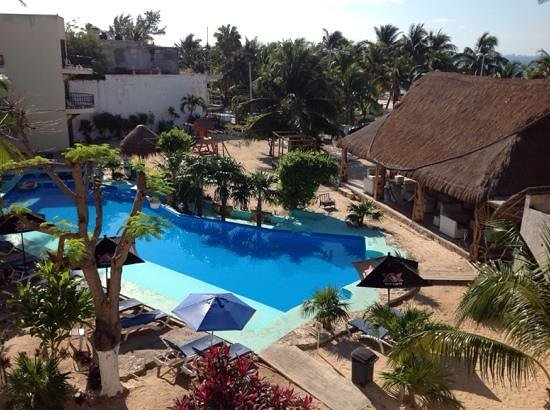 Hotel Posada Del Mar : pool area