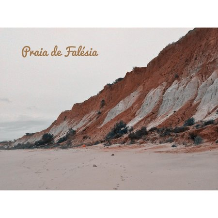 Falesia Hotel: Playa