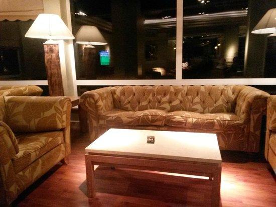 Falesia Hotel: Sala de Estar / cafetería
