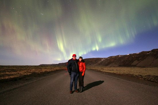 Time Tours: Happiness in the freezing Iceland night!