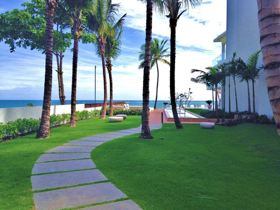 Ultravioleta Boutique Residences: view from our terrrace