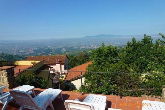 Hotel Bellavista : Widok z basenu