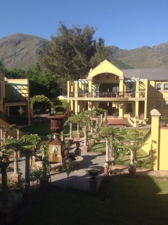 Franschhoek Country House & Villas: view from villa 21