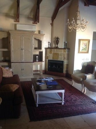 Franschhoek Country House & Villas: our lounge