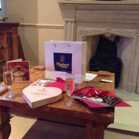 Black Lion Hotel : we treated ourselves