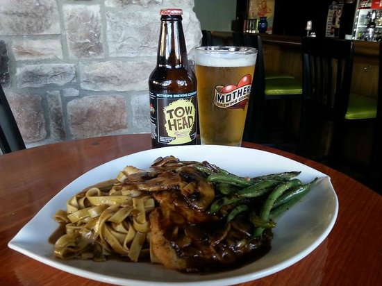 The Rebecca Grille: Wonderful food n beer pairings avl