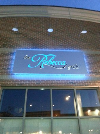 The Rebecca Grille: Sign