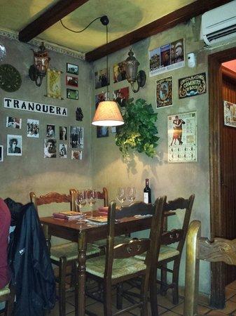 La Tranquera Restaurante: Interior