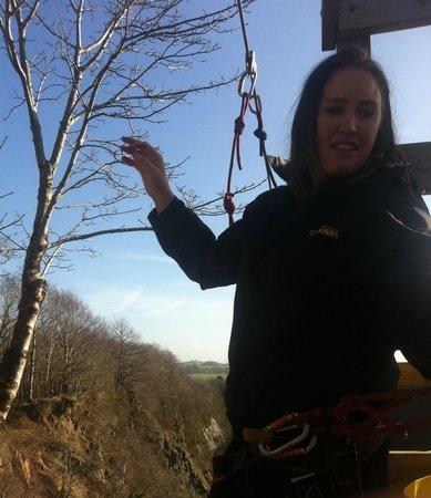 Adrenalin Quarry : Lovely staff