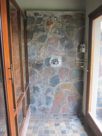 Arathusa Safari Lodge : indoor shower in room
