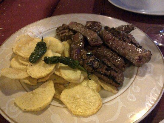 El Pederniz: Carne