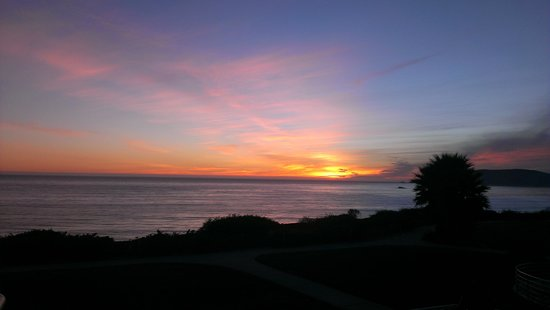 The Cliffs Resort: sunset from our room