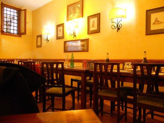 L'Antico Moro : sala interna