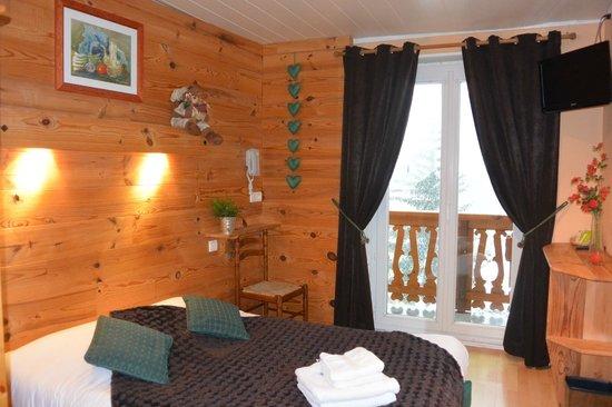 Hotel du Centre: chambre double