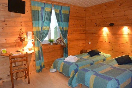 Hotel du Centre: chambre twin