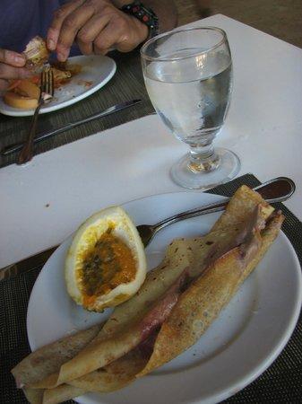 IFA Villas Bavaro Resort & Spa: snack at the beach restaurant - delicious